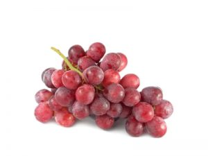 punnet red grapes